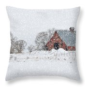 Blizzard Throw Pillow