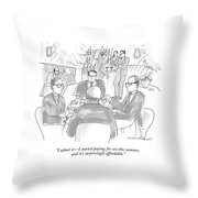 I Admit It - I Started Paying For Sex This Summer Throw Pillow