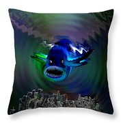 278 -   The Custodian Of Atlantis Throw Pillow