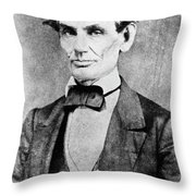 Abraham Lincoln (1809-1865) Throw Pillow