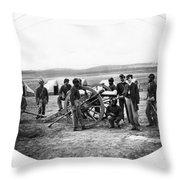 Civil War Black Troops Throw Pillow
