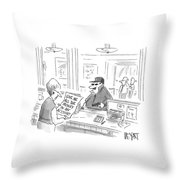 New Yorker August 4th, 2008 Throw Pillow