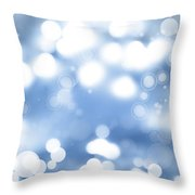 Abstract Background Throw Pillow