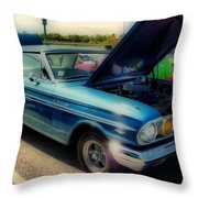 289 Ford Fairlane 500 Hdr Throw Pillow