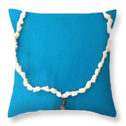 Aphrodite Urania Necklace Throw Pillow
