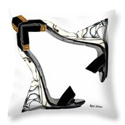 Shoe Love Throw Pillow