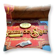 292  Hanover Street North End Throw Pillow