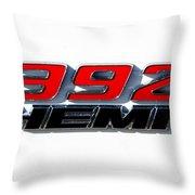 392 Hemi Throw Pillow