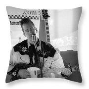 2cntry4nashville Throw Pillow