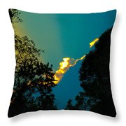 2nd Image After The Storm Throw Pillow