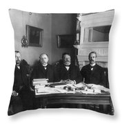 2nd Philippine Commission Throw Pillow