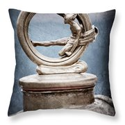 1912 Gobron-brillie 12 Cv Skiff Hood Ornament Throw Pillow