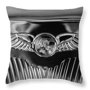 1933 Pontiac Emblem Throw Pillow