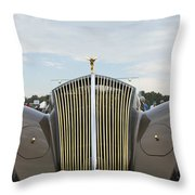 1937 47 Rolls Royce Throw Pillow