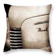 1940 Nash Sedan Grille Throw Pillow