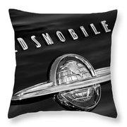 1950 Oldsmobile 88 Emblem Throw Pillow