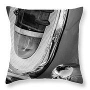 1955 Mercury Monterey Taillight Throw Pillow