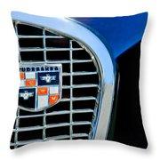 1956 Studebaker Golden Hawk Emblem Throw Pillow