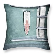 1958 Oldsmobile Emblem Throw Pillow
