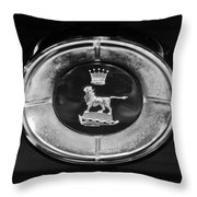 1965 Sunbeam Tiger Grille Emblem Throw Pillow