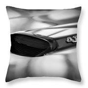 1966 Pontiac Gto Hood Emblem Throw Pillow