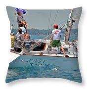 Fast Tango Throw Pillow