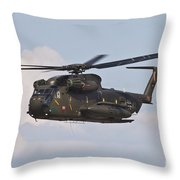 A Ch-53gs Of The German Army Throw Pillow