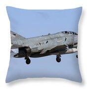 A German Air Force F-4f Phantom II Throw Pillow