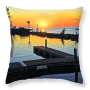 A New Day Throw Pillow