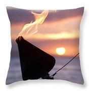 A Sense Sublime Throw Pillow
