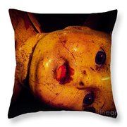 Abandoned Vintage Throw Pillow