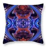 Abstract 110 Throw Pillow