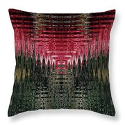 Abstract 117 Throw Pillow