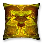 Abstract 118 Throw Pillow