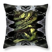 Abstract 51 Throw Pillow
