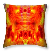 Abstract 70 Throw Pillow