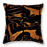Abstract 81 Throw Pillow
