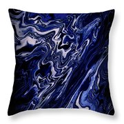 Abstract 84 Throw Pillow by J D Owen