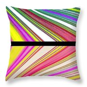 Abstract Fusion 221 Throw Pillow by Will Borden
