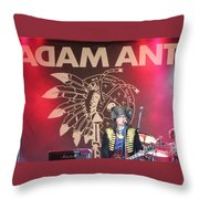 Adam Ant Throw Pillow