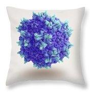 Adeno-associated Virus Throw Pillow