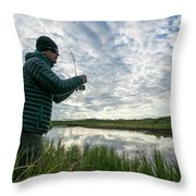 Adventures In Aniakchak, Ak Throw Pillow