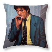 Al Pacino 2 Throw Pillow