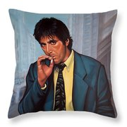 Al Pacino 2 Throw Pillow by Paul Meijering