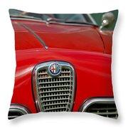 Alfa Romeo Grille Emblem Throw Pillow