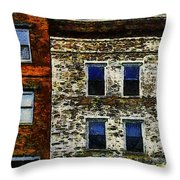 3 Am In Amherst Throw Pillow by RC deWinter