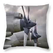 3 And 4 Throw Pillow