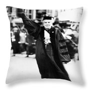 Anna Howard Shaw Throw Pillow