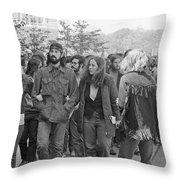 Anti-war Protest, 1971 Throw Pillow