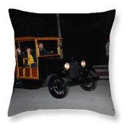 Antique Truck Throw Pillow